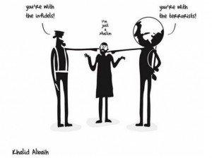 080115 Challenges Khalild Albaih dessin Charlie Hebdo
